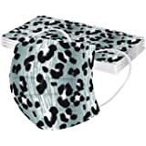 Bufanda con Estampado de Leopardo Unisex para Adultos de 10/50 Piezas, Chal Suave de Moda Universal Lindo con Gancho elástico