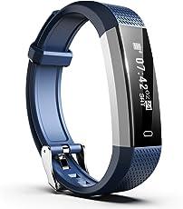 Smiphee Fitness Tracker N1 Tracker Attivit¨¤ Pedometro, Orologio Fitness Impermeabile Sport Braccialetto Fitness Orologio Da Polso Monitor Sonno per iOS & Android