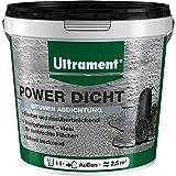 Ultrament 82451900116608 1L Power Dicht Super Flexibele universele afdichting   dakafdichting & doe-het-zelvers   1 liter, zw
