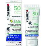 ultrasun SPF 50 ansikte ultralätt mineral solskyddskräm, 40 ml