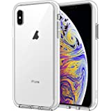 JETech Case for Apple iPhone Xs Max 6.5-Inch, Shockproof Bumper Cover, HD Clear