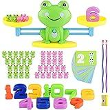 Sirecal Equilibrio Juego de matemáticas Rana Digital Educativo Montessori Juguetes Contable para Niños matemáticas básicas de