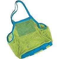 Sunreek Strandtasche aus Netzstoff, Muscheltasche für Strand, Pool, Boot, für die Aufbewahrung von Kinderspielzeug (XL…
