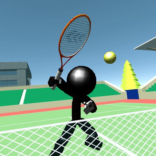 Stickman 3D Tennis -