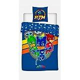 Juego de edredón individual de PJ Masks «Its Time to be Hero ...