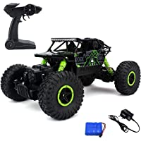 The Flyers Bay Rock Through Bay Rock Crawler 1:18 Scale 4Wd Rally Car - The Mean Machine, ( Assorted Color)