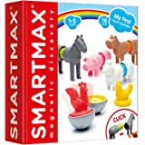 SMART Toys and Games GmbH SMX 221 SmartMax My First Farm Animals Lot de 16 pièces Multicolore 25 x 25 x 6 cm