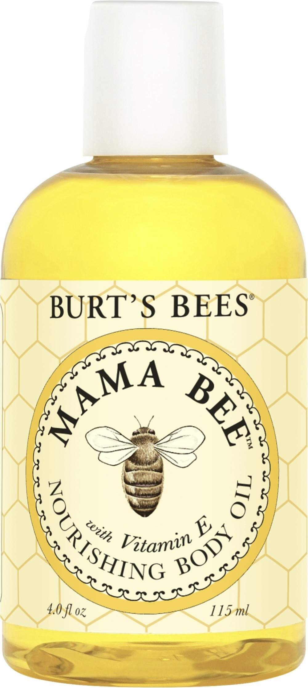Burt's Bees 100% Natural Mama Bee Nourishing Vitamin E Body Oil, 115 ml