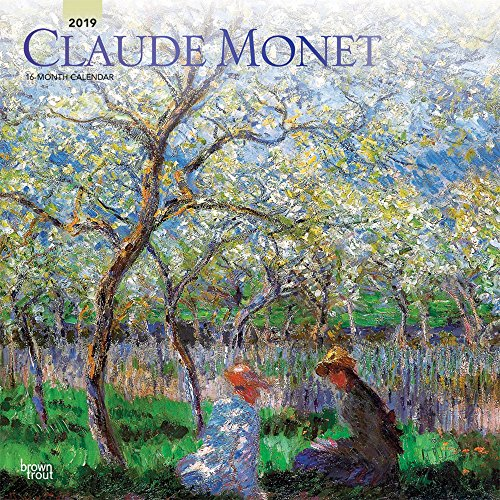 Claude Monet 2019 Calendar
