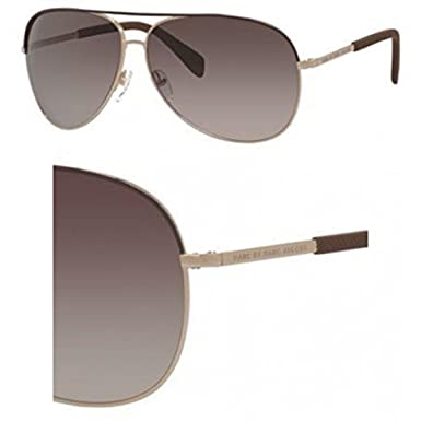 72d053d7b448 Marc By Marc Jacobs 484/S Sunglasses Brown Gold / Brown Gradient & Cleaning  Kit Bundle: Amazon.co.uk: Clothing