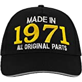Bombo Made in 1971 All Original Parts^ 50 Years Birthday Party Hat Negro