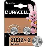 Duracell DL2032/CR2032 - Batteria Bottone al Litio 3V, con Tecnologia Baby Secure per l'Uso su Chiav...