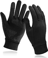 Unigear Guanti Invernali, Guanti Interni Sportivi Touchscreen Caldo Antiscivolo Sportivo per Uomo Donna, Idea per Corsa, Cicl