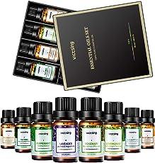 VICTSING Ätherische Öle Set, Top 8 Aromatherapie Duftöl