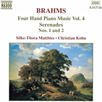 Brahms - Four Hand Piano Music, Vol 4