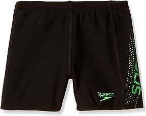 Speedo Boys Swimwear Sports Logo Panel Aquashort