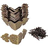 BQLZR bronzen decoratieve doos randbescherming randafdekking gegraveerd design vintage verpakking van 20