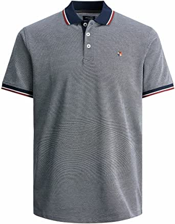 Jack & Jones Men's Jprbluwin Polo Ss STS Shirt