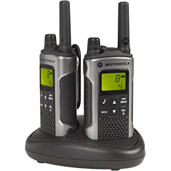 Motorola T80 Walkie Talkie 8channels two-way radio - Two-Way Radios (8 channels, 10000 m, AAA, Nickel-Metal Hydride (NiMH), 140 g, 57 x 171 x 40 mm)