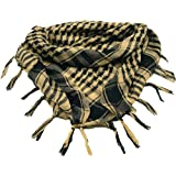 MiaoMa Thicker outdoors 100% Cotton Military Shemagh Tactical Desert Keffiyeh Scarf Wrap