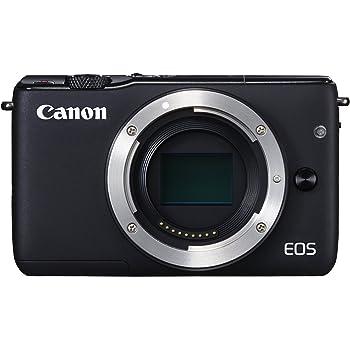 Canon EOS M10 - Cuerpo de cámara digital compacta de 18 MP (CMOS de 22,3 x 14,9 mm, AF), color negro