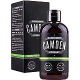 Shampoing pour la barbe 2 en 1 de Camden Barbershop Company ● soins naturels pour la barbe et nettoyage du visage ● odeur fra