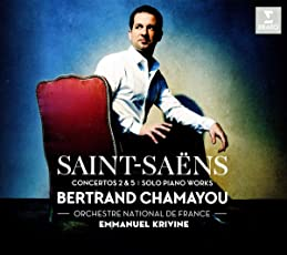 Saint-Saens: Klavierkonzerte Nr. 2 & 5, Solo-Stücke