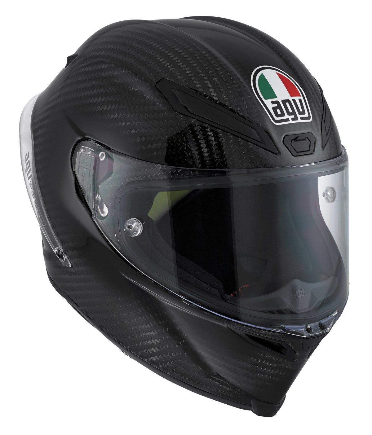 AGV J6001A4DW002XL Casco Pista GP E2205 Solid W, Grigio (Carbon), XL