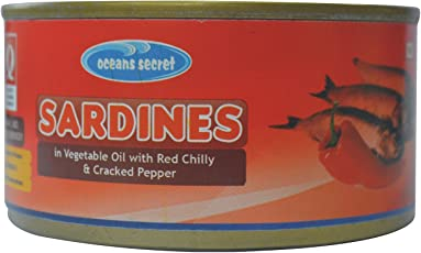 Oceans Secret Sardines in Chilly and Pepper, 180g