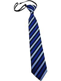 TigerTie - Corbata - Rayas - para niño