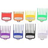Fesjoy 8 PZ Guida al taglio Pettine Barbiere Set di strumenti per parrucchiere Set di pettine colorato limite compatibile con