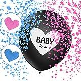 Gender Reveal Party Kit, Gender Reveal Party Palloncini, Boy or Girl Balloon, Rosa e Blu Coriandoli, Sesso Display Decorazion