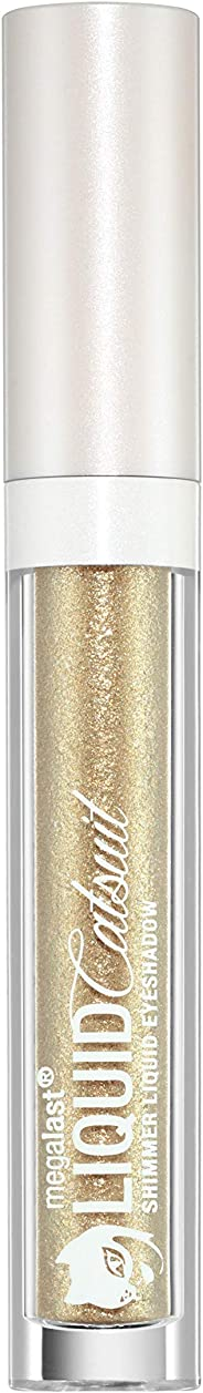 Wet n Wild Megalast Catsuit Liquid Metallic Eyeshadow - Goldie Luxe, Gold, 3 ml