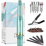 Nagelfrees, nagelvijl voor acryl-, gel- en natuurnagels instelbare snelheid, manicureset voor beginners, hobbynagelstudio's,