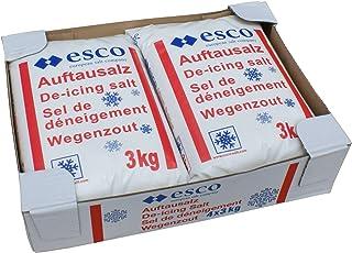 Esco Streusalz Auftausalz (4 x 3 kg)
