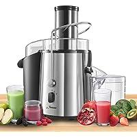 Twinzee - Centrifugeuse, Grande Puissance 850 W, Haute Efficacité, Extracteur de Jus de Fruits et Légumes, 2 Vitesses…