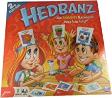 Spin Master Games   - 6019225 - Hedbanz (3. Edition), Spieleklassiker, neuer Kartensatz