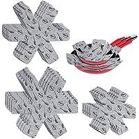 ATopoler 15 PCS Protection Casseroles et Protège-Poêle Protecteurs de Poêle Premium Coussinets D'intercalaire pour…