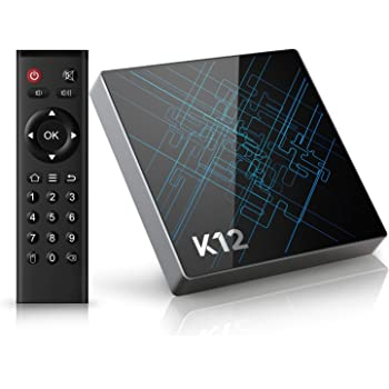 (Offerta)Bqeel K12 Android TV Box / Android 6.0 OS / Amlogic S912 Qcta Core ARM Cortex-A53 CPU / 2G DDR3 + 16G Emmc /Dual Band WiFi / 1000M LAN / Bluetooth 4.1 /4K HD/ SMART TV BOX (16gb)