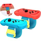 Game Wrist Bands for Nintendo Switch Controller Game Switch Just Dance 2020 Just Dance 2019, Joy-Cons Left and Right Switch A