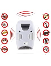 TATERO Ultrasonic Pest Repeller Repellent, Home Pest Control Reject Device Non-Toxic Spider Lizard Mice Repellent Indoor for Mosquito, Ant, Flea, Rats, Roaches, Cockroaches, Fruit Fly, Rodent, Insect