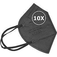 TBOC FFP2 Masken - [Packung] Einwegmasken 5 Schichten [Nicht wiederverwendbar] Atmungsaktives Falten mit Nasenklemme…