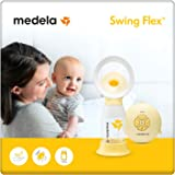 Medela Swing Flex 2-Phase Tiralatte Elettrico Singolo, 11 Livelli, 150 ml, Portatile
