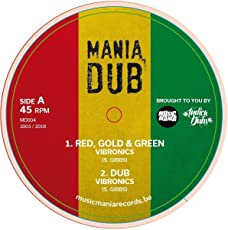 Red,Gold & Green/Terror [Vinyl Maxi-Single]