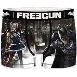 FREEGUN Boxers Men DC Comics Batman Arkham City 🦇