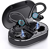 Bluetooth Kopfhörer in Ear, Andfive Kopfhörer Kabellos Sport Bluetooth 5.1 Headsets mit Stereo Deep Bass, Noise…