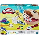 Play-Doh B5520EU4 Doctor Drill-n-Fill, Tandläkare Lekset för Barn, Flerfärgad