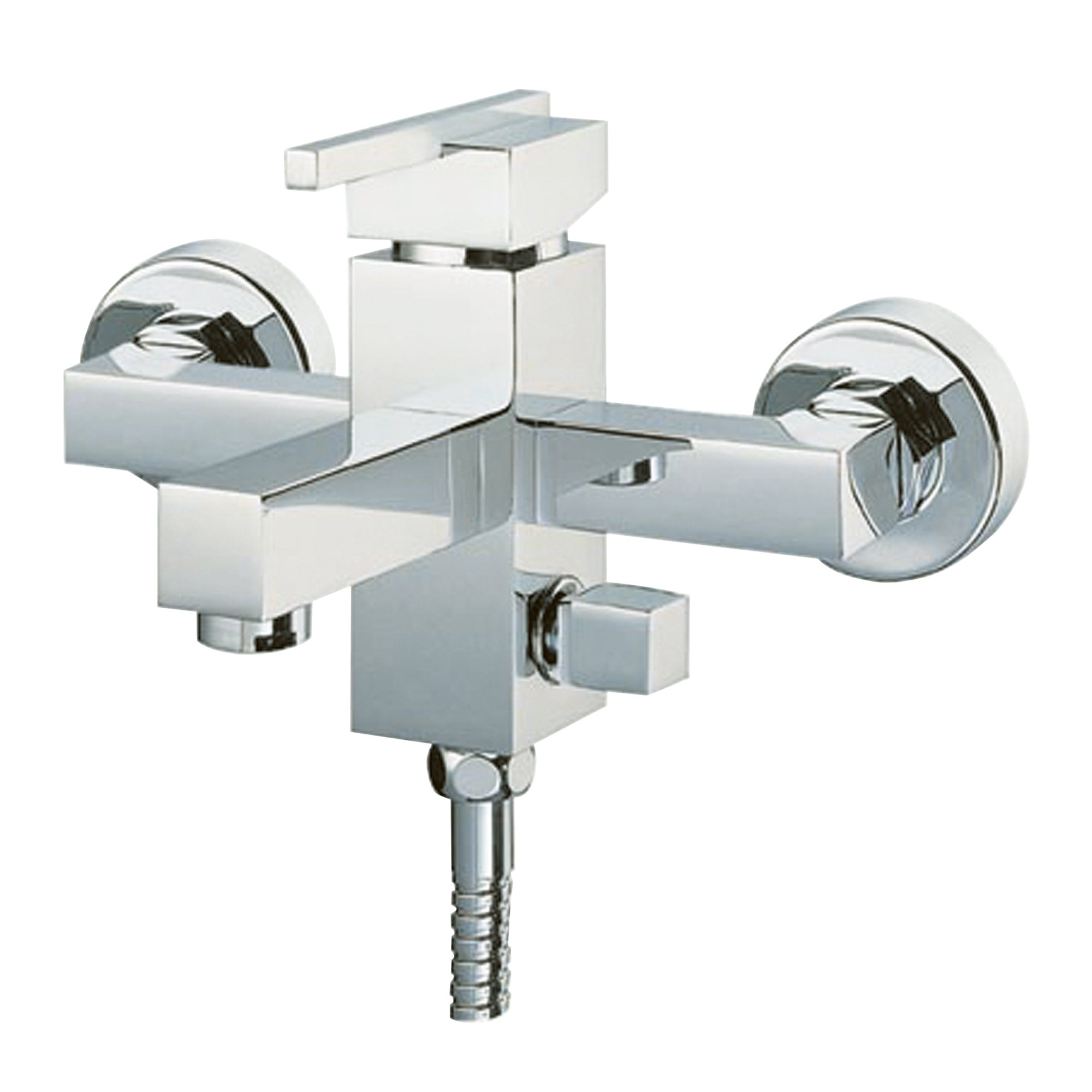 Idro Bric J46339 Laser Miscelatore Monocomando per Vasca, Cromato