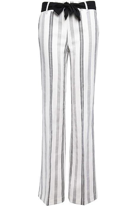 Goldenpoint Leggings Wide Leg Fantasia Macro Righe