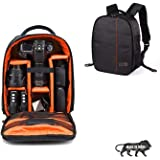 Osaka Pro Series-11 Waterproof DSLR Backpack Camera Bag, Lens Accessories Carry Case for Nikon, Canon, Olympus, Pentax…